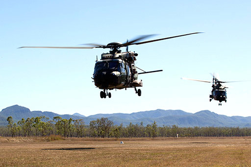 Royal Australian Air Force – Helicopter