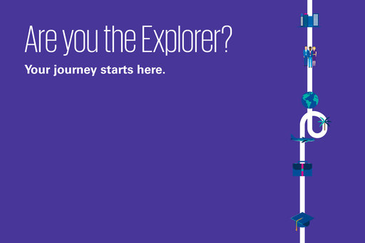 Grad recruitment: Are you the explorer?