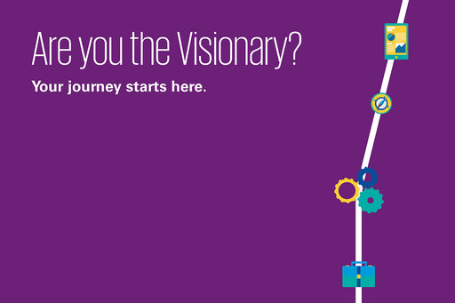 Grad recruitment: Are you the Visionary?