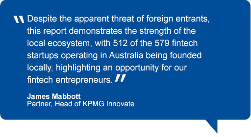 Quote from James Mabbott, Head of KPMG Innovate