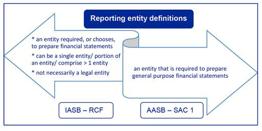 18RU-001 Applying the new Conceptual Framework in Australia reporting entity definitions