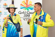 GC 2018 Commonwealth Games volunteers