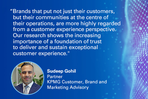 2019 Customer Experience Excellence Report: Quote from Sudeep Gohil