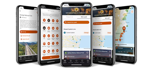 NSW National Parks and Wildlife app