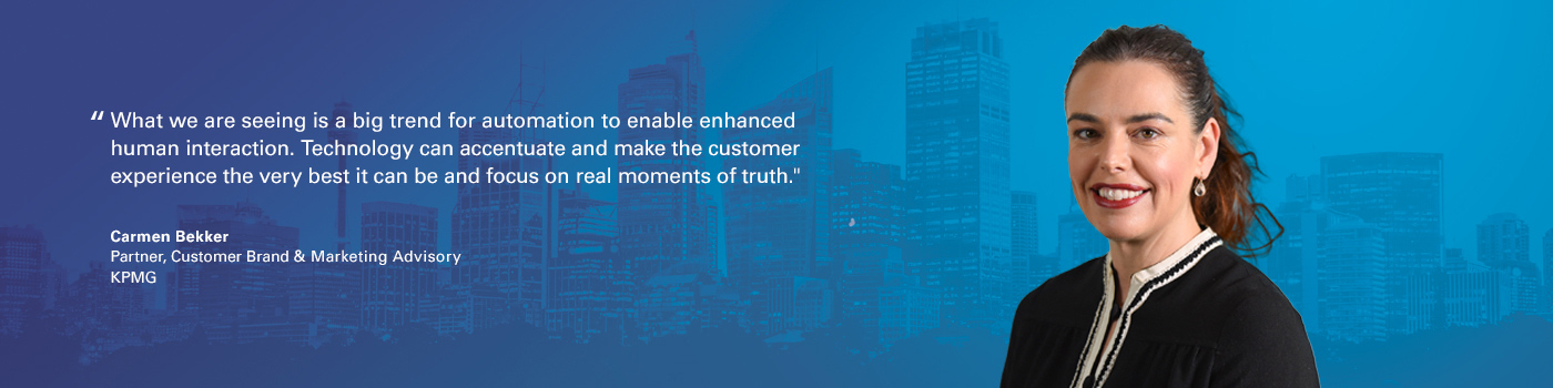 Quote from Carmen Bekker on The Next 5 Years for customer centricity
