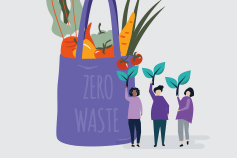 Zero waste illustration