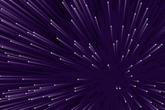Purple shooting stars