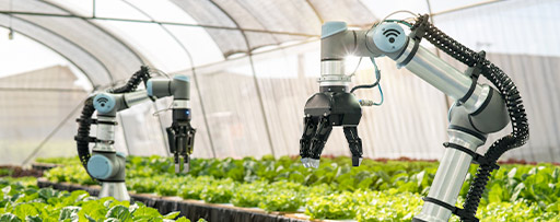 Smart robotic farmers in agriculture
