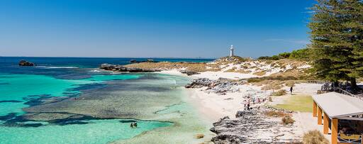 The Basin, Rottnest Island in Western Australia