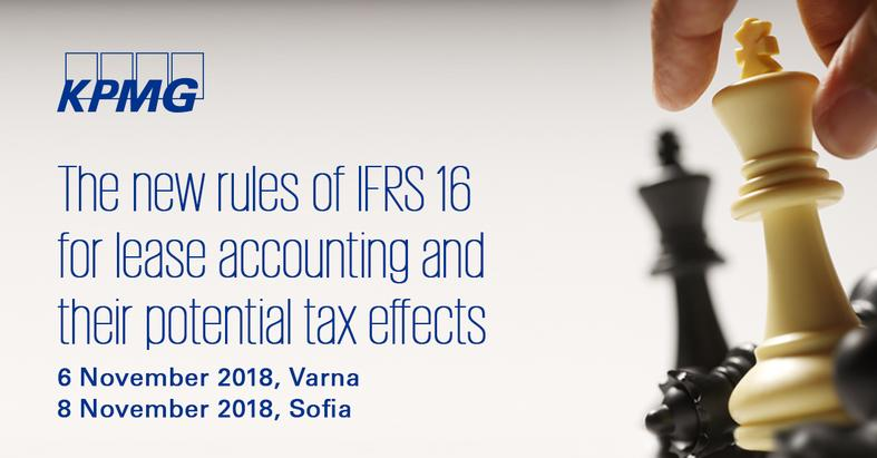 The new rules of IFRS 16 for lease accounting and their potential tax effects