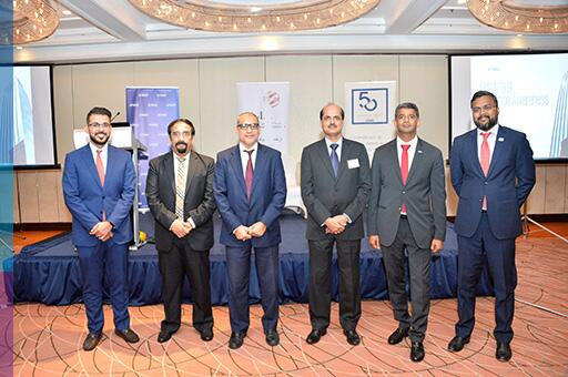 The speakers during IFRS 17 and 9 event
