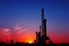 drill, oilfield services, sunset, energy services, oil pump