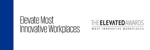 Elevate award - Most innovative workplaces