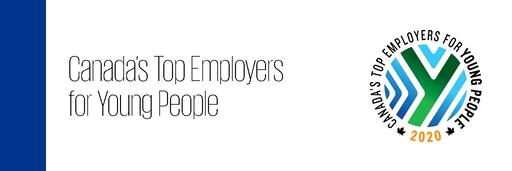 Canada's Top Employer for Young People 2020
