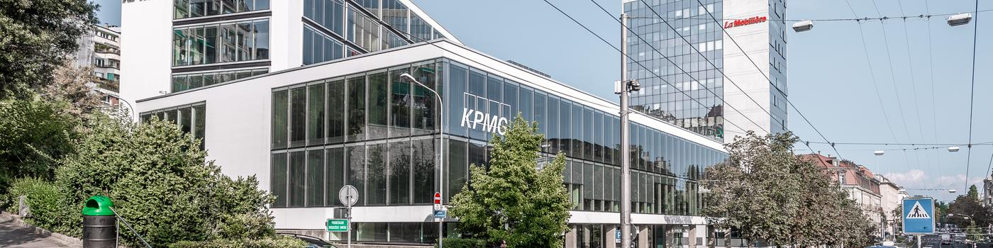 KPMG office in Lausanne
