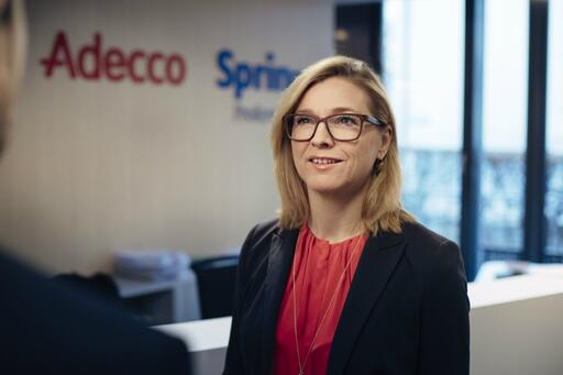 Nicole Burth, CEO Adecco Group Switzerland