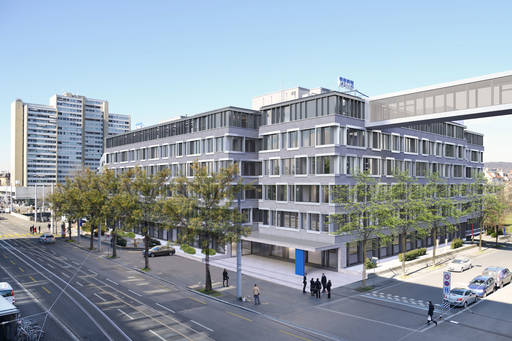 Remodeling KPMG's headquarters in Zurich