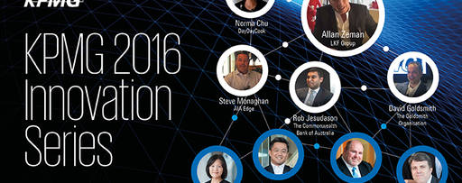 KPMG Innovation Series 2016