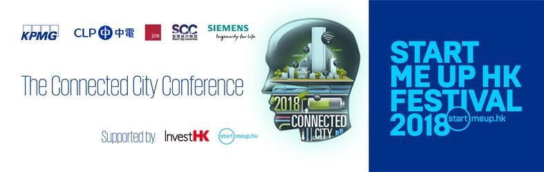 The Connected City Conference banner