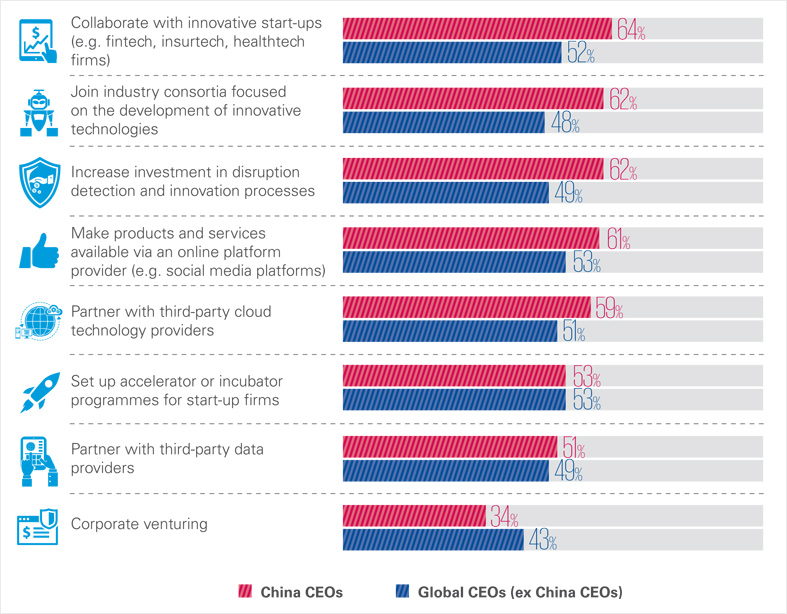 CEO actions to pursue growth objectives