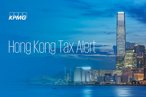 Hong Kong Tax Alert
