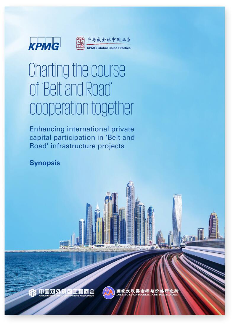 Cover of the Charting the course of 'Belt and Road' cooperation together report