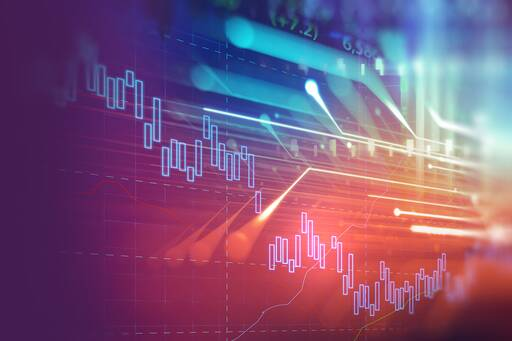 financial stock background