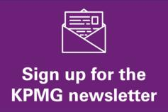 Sign up for KPMG's newsletter