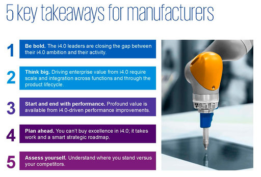 5 key takeaways for manufacturers