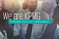 We are KPMG, échangez avec nos collaborateurs