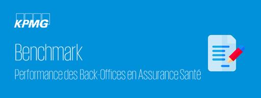 Benchmark back office assurance sante kpmg