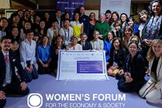KPMG s'engage avec le Women's Forum