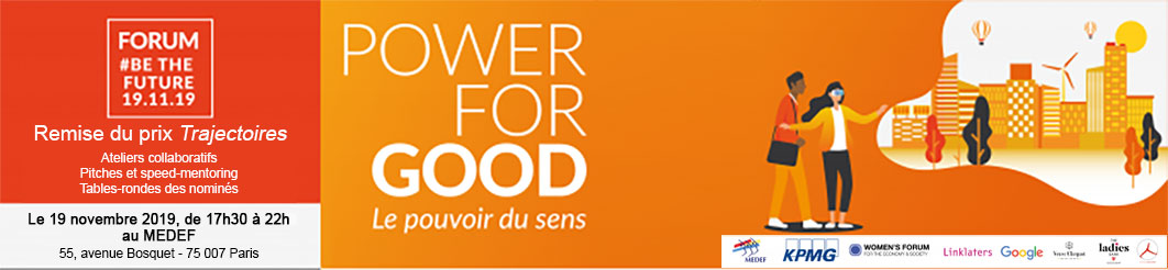 [Evènement] HEC au Féminin : Power for Good – Paris