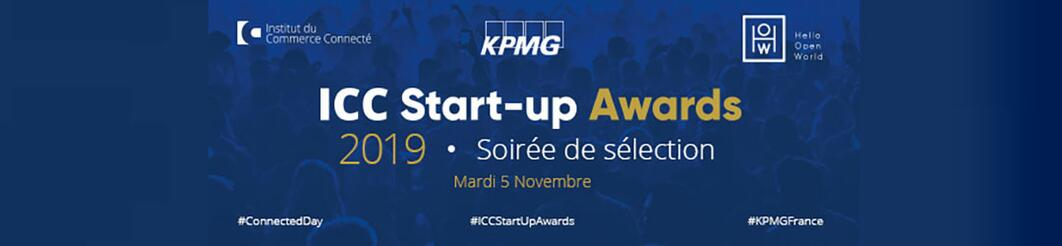 KPMG, partenaire des ICC Start-up Awards 2019
