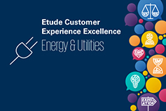 Étude Customer Experience Excellence – Energy & Utilities