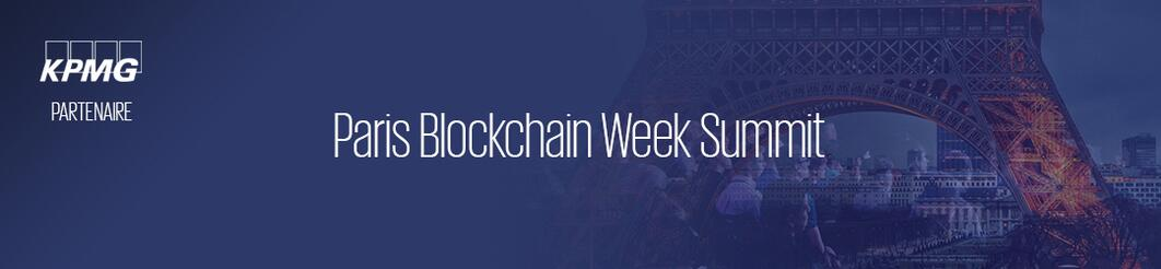 Paris Blockchain week summit – Paris