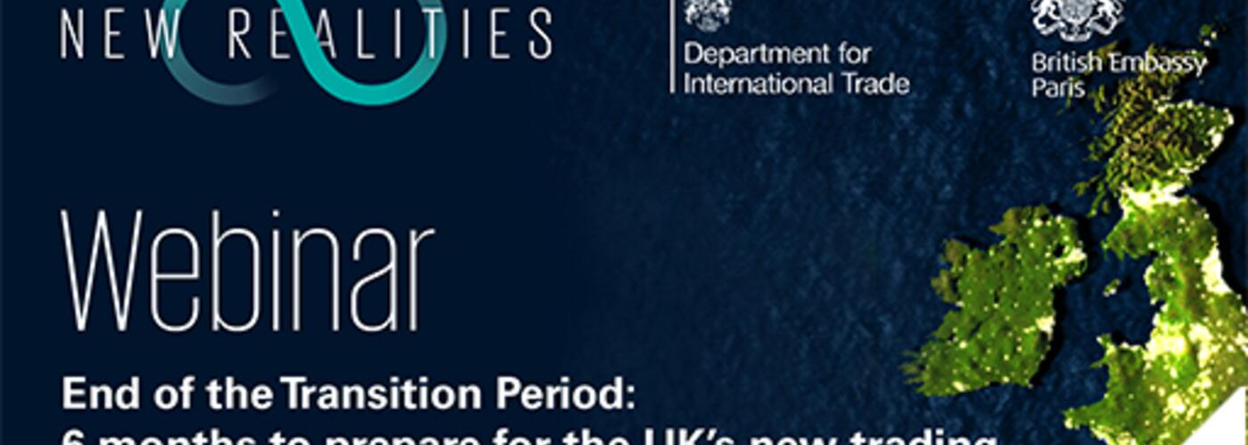 Webinar : The future of trade relations between UK and France