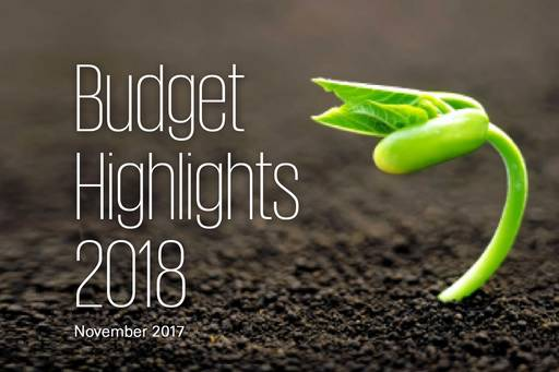 2018 Budget Highlights
