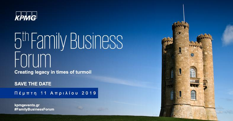 5th Family Business Forum - Creating legacy in times of turmoil