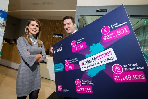 #StrongerTogether with Cian Coughlan, KPMG volunteer