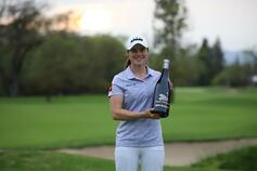 Leona Maguire secures first professional win