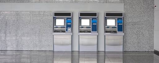 The station automatic machines atm machine