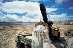 Opencast uranium mine wyoming usa