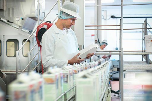 Dairy production inspection