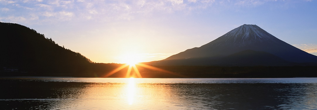 Sunrise at mt fuji