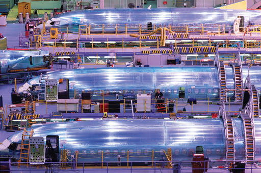 planes being manufactured