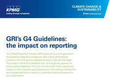 GRI's G4 guidelines
