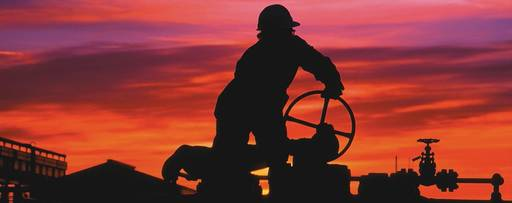 Oil & Gas - person working on the oil and gas industry