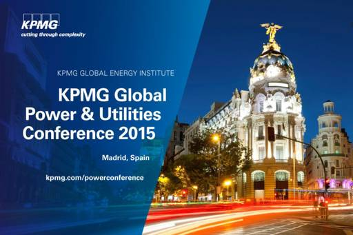 global power utilities conference 2015 Madrid