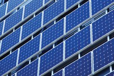 Solar panel windows
